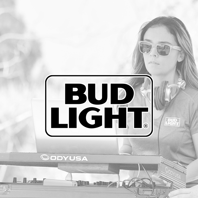 Bud Light Sampling Event
